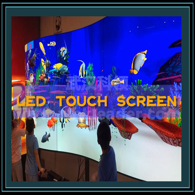 Interactive LED  touch screen