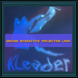 Ground interactive projection LOGO