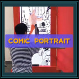 comic portrait