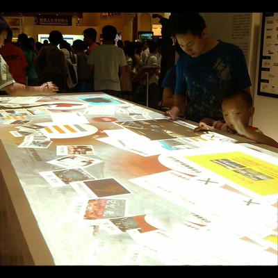 Interactive Table multimodal interaction Long interactive table