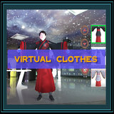 3D virtual changing clothes use kinect camera