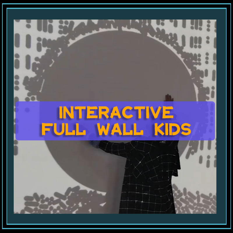 Interactive Full Wall Kids