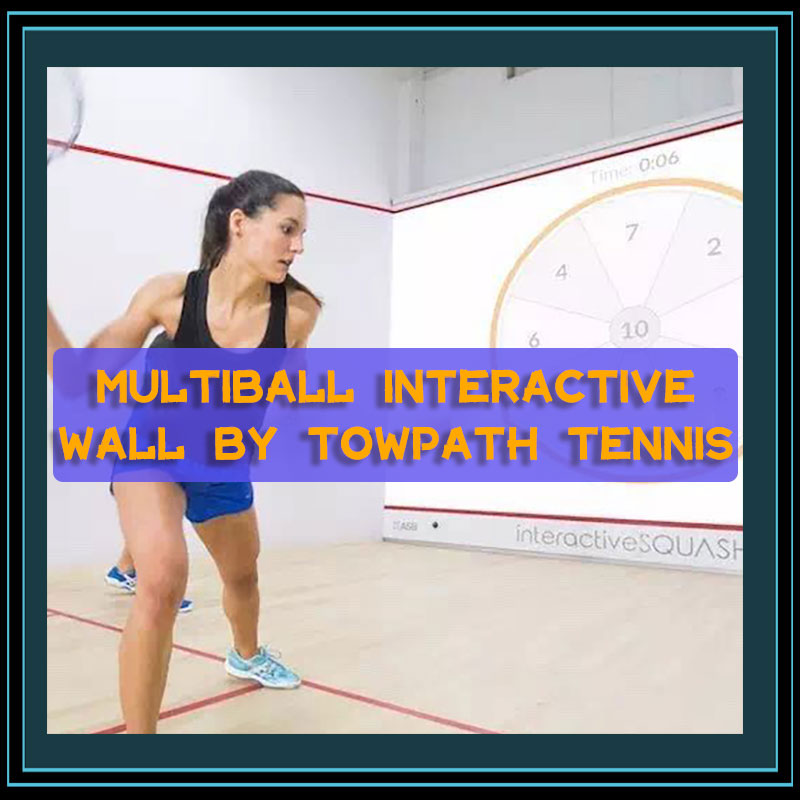 MultiBall Interactive Wall By Towpath Tennis