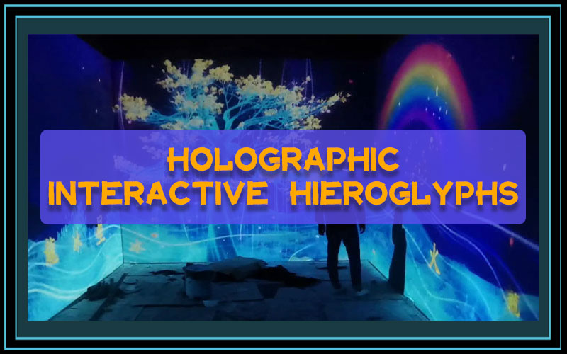Holographic Interactive Hieroglyphs