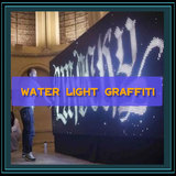 Water light graffiti