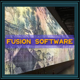 Projection large screen fusion Soft