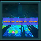 Interactive projection robot