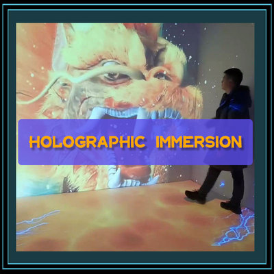 Interactive Holographic Projection