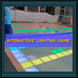 Interactive lighting game